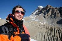 Zima, narciarz