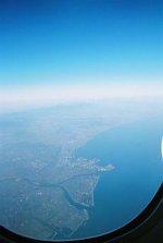 Widok z okna samolotu