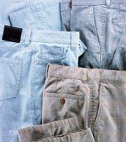 Różne spodnie męskie
